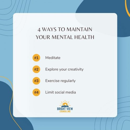 Tips to Maintain Mental Health